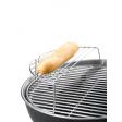 U warmt makkelijk gerechten op boven de barbecue