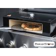 De BakerStone staat gewoon op uw barbecue