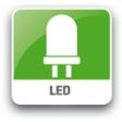LED verlichting, gaat uit na 180 seconden