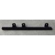 Kunststof rails voor SuperJack schuifhekopener, 50cm lang