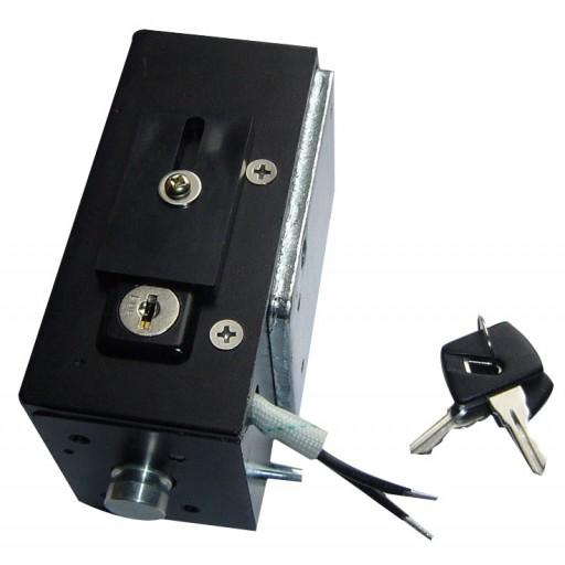 Elektromagnetisch Slot en Stopper voor naar buiten draaiende deur (sleutel R)