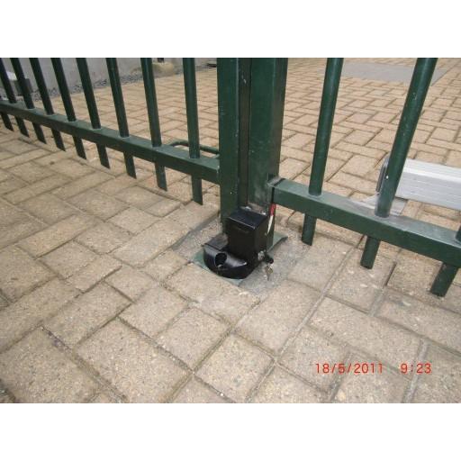 Elektromagnetisch slot en stopper set