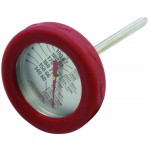 Vleesthermometer RVS met siliconen rand