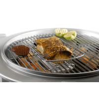 Een braadkorf verhoogt de afstand tot het grill rooster