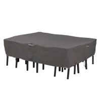 Ravenna hoes voor rechte/ovalen tuintafel en -stoelen, groot