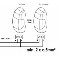 LiftMaster 772E Infrarood Veiligheidssensor