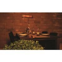 HWML1500 Halogeen terrasverwarming 1500W met afstandsbediening en verlichting