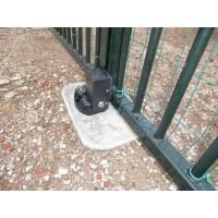 Slot en Stopper voor Ondergrondse opener, naar binnen draaiend hek (sleutel R)