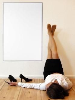 Een Infrarood verwarmingspaneel kan ook een versiering van uw muur zijn.